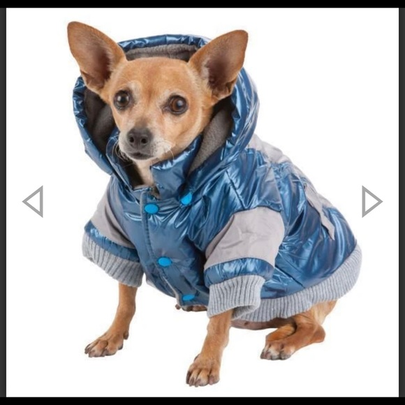 XS Pet Life Aspen Vintage Dog Ski Coat XS Blue